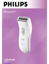 Philips Ladyshave HP6305 User Manual