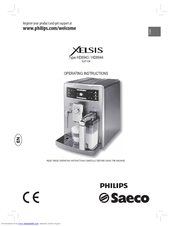 philips saeco xelsis hd8944 01 manuals rh manualslib com iPad Manual User Guides Samples
