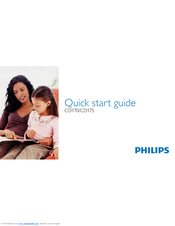 Philips CD1752B/05 Quick Start Manual