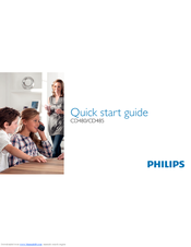 Philips CD4802B/HR Quick Start Manual
