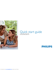 Philips CD2751S/90 Quick Start Manual