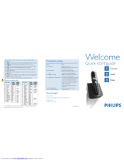 Philips CD1452B/51 Quick Start Manual