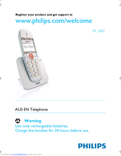 Philips XL6601C/38 User Manual