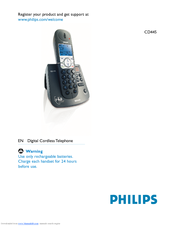 Philips TD4454Q User Manual