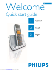 Philips SE4351S/05 Quick Start Manual