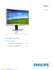 Philips 241S4LYCB/00 Monitor Download Drivers