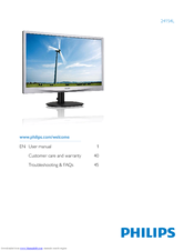Philips 241S4LSB/00 Monitor Windows 7 64-BIT