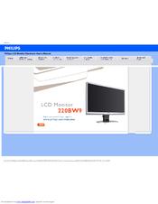 Philips 220BW9CB/27 Monitor Driver FREE