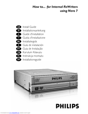 Philips SPD2513BD/10 Install Manual