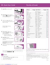 philips srp4004 87 manuals rh manualslib com philips remote srp4004/27 manual philips remote srp4004/27 manual