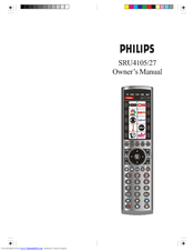 Philips SRU4105/27 Owner's Manual