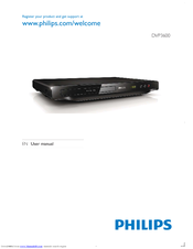 Philips DVP3600/96 User Manual