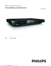Philips DVP3680/93 User Manual