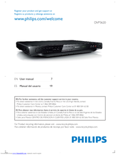 Philips DVP3620/F8 User Manual