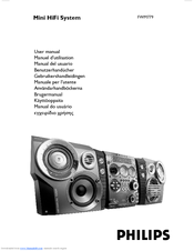 Philips FWM779 User Manual