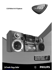 Philips FWR3337 User Manual