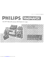 Philips Magnavox FW 754P User Manual