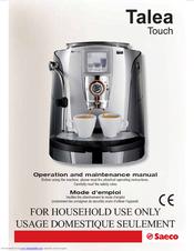 saeco talea touch manuals rh manualslib com saeco talea giro plus service manual saeco talea service manual pdf