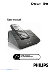 Philips DECT3111B/29 User Manual