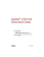 Toshiba 1130-S156 User Manual