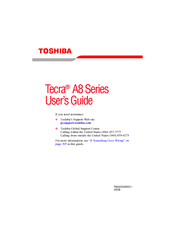 Toshiba Tecra A8 User Manual
