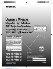 toshiba rear projection tv manual