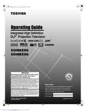 toshiba 50hmx96 50 rear projection tv manuals rh manualslib com Service ManualsOnline Service ManualsOnline