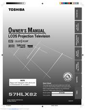 toshiba 57hlx82 manuals rh manualslib com 52HM95 Toshiba Manual TheaterWide Toshiba TV Service Manual