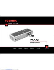 toshiba tdp p6 manuals rh manualslib com Toshiba Remote Manuals toshiba tdp-p5 service manual