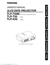 toshiba tlp s30 manuals rh manualslib com Toshiba TV Manual Toshiba TV Owners Manual