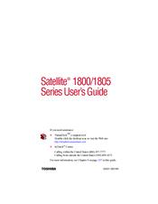 Toshiba Satellite 1800-364E Lucent Modem Drivers Windows XP