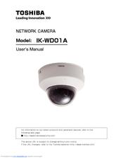 toshiba ik wd01a ip network mini dome camera manuals rh manualslib com Wireless Network Camera Review Network Security Cameras