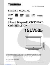 toshiba 15lv505 15 6 lcd tv manuals. Black Bedroom Furniture Sets. Home Design Ideas