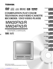 toshiba mw20f51 tv dvd service manual download