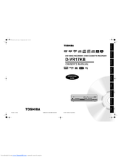 Toshiba D-VR17KB Owner's Manual