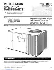 Trane YCZ060F1/3M0B Manuals