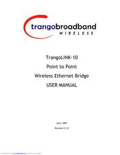 Trango broadband trangolink-45 user manual | 2 pages.