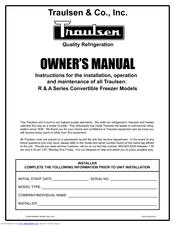traulsen g series owner's manual pdf download defrost timer wiring diagram  traulsen refrigerator wiring diagram