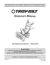 manual for troy bilt storm 2410