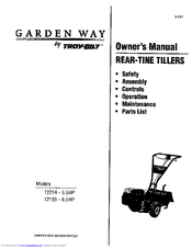 Manuals And User Guides For Troy Bilt 12214   5.5HP. We Have 2 Troy Bilt  12214   5.5HP Manuals Available For Free PDF Download: Owneru0027s Manual