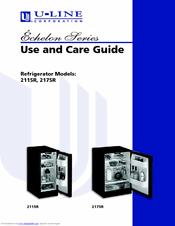 u line echelon 2175rs manuals rh manualslib com u line wine fridge manual u-line refrigerator owners manual
