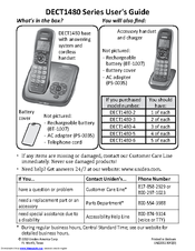 uniden dect1480 3 manuals rh manualslib com uniden telephone user manual uniden user manual dect 6.0