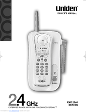 uniden 2 line phone manual