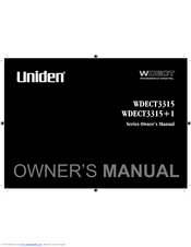 uniden wdect 3315 user manual user guide manual that easy to read u2022 rh sibere co