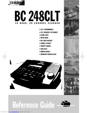 UNIDEN BC 248CLT REFERENCE MANUAL Pdf Download