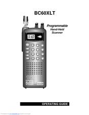 uniden bc60xlt manuals rh manualslib com Uniden Scanners BC60XLT Uniden Bearcat BC60XLT Instruction Manual
