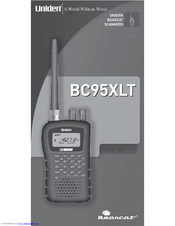 Uniden BC95XLTB User Manual