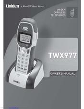 uniden twx977 owner s manual pdf download rh manualslib com Uniden Owner's Manual Uniden Answering Machine Manual