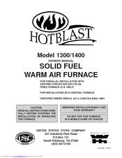 united states stove hotblast 1400 manuals rh manualslib com White Electric Stove Ranges Kenmore Stove Parts