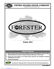 united states stove forester 5824 manuals rh manualslib com Kenmore Stove Manual Whirlpool Stove Manual
